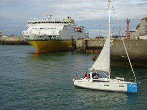 Transmancheferries et le bateau